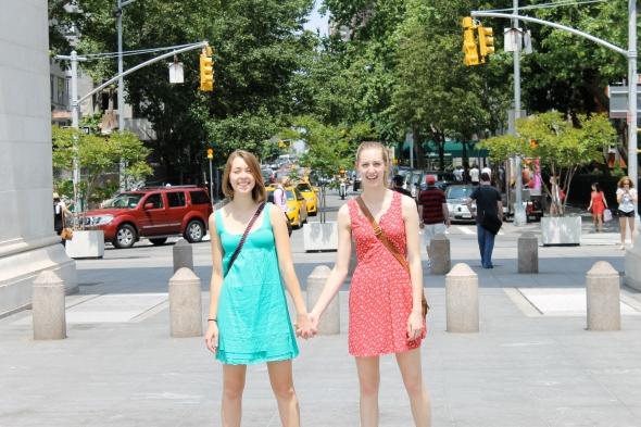 sister heidi + sister julie